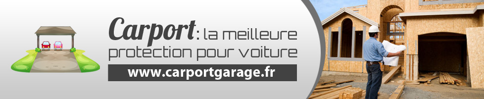 Carport de garage : protection pour voiture